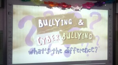PARLIAMO IN CLASSE DI BULLYING E CYBERBULLYING!